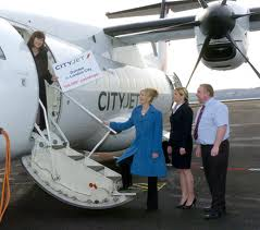 Cityjet flights Cardiff Glasgow Edinburgh